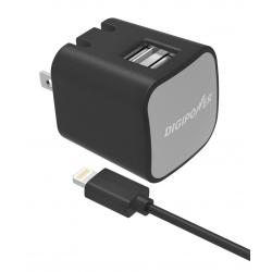 SÍŤOVÁ NABÍJEČKA DIGIPOWER DUAL USB 3,4A MFI - BL.