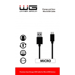 WG DAT. KABEL MICRO USB BLK