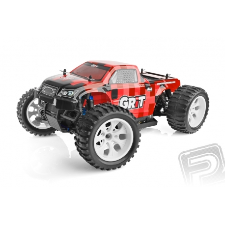 HIMOTO MONSTER EMXT GRIT 1:10 ELEKTRO RTR SET 2,4 GHZ - RED