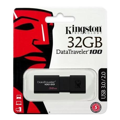 FLASH KINGSTON 32GB 100G3 USB 3.0