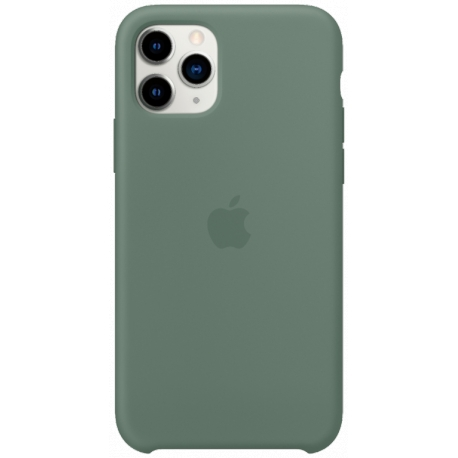 SILICONE CASE IPHONE 11 PRO - GREEN