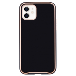POUZDRO GLASSCASE  IPHONE 12/IPHONE 12 PRO - BLACK
